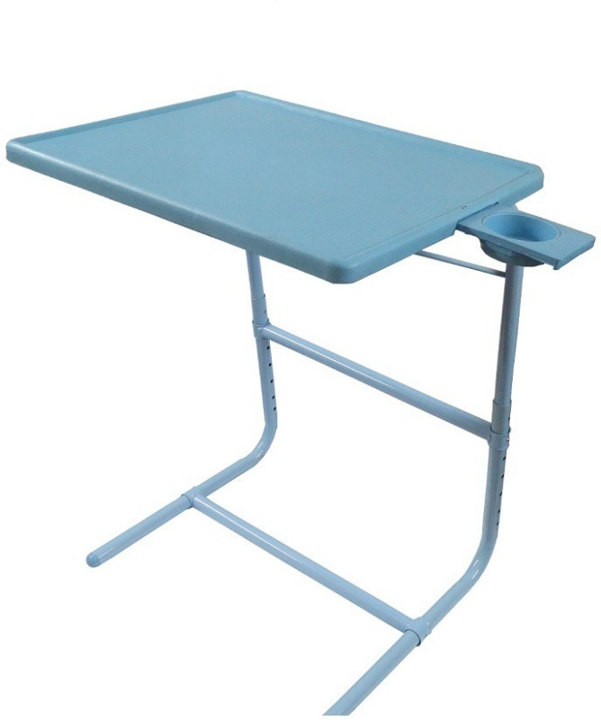table-mate-ii-blue-platinum-mate-with-double-foot-rest-adjustable-folding-study-cupholder-kids-reading-breakfast-plastic-portable-laptop-tablefinish-color-blue
