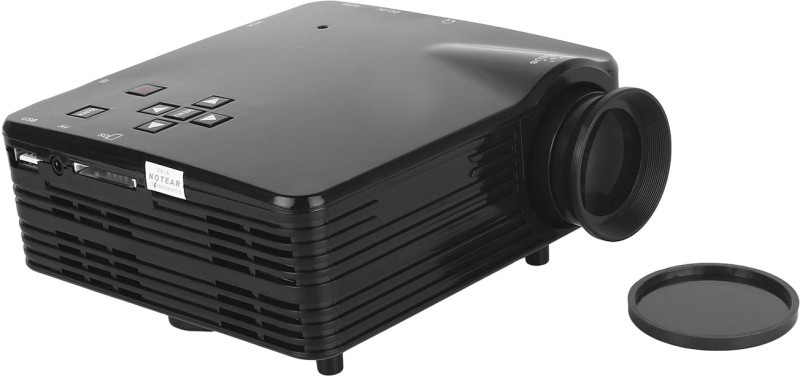 SVASTI Led Projector 120 lm LED Corded Portable Projector(Multicolor) image