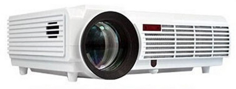 PLAY Wireless Android 5500 lm LED Corded Portable Projector(White)