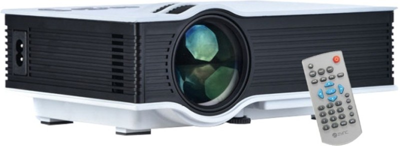 Shrih Mini Home Multimedia 800 lm LED Corded Portable Projector(White) image