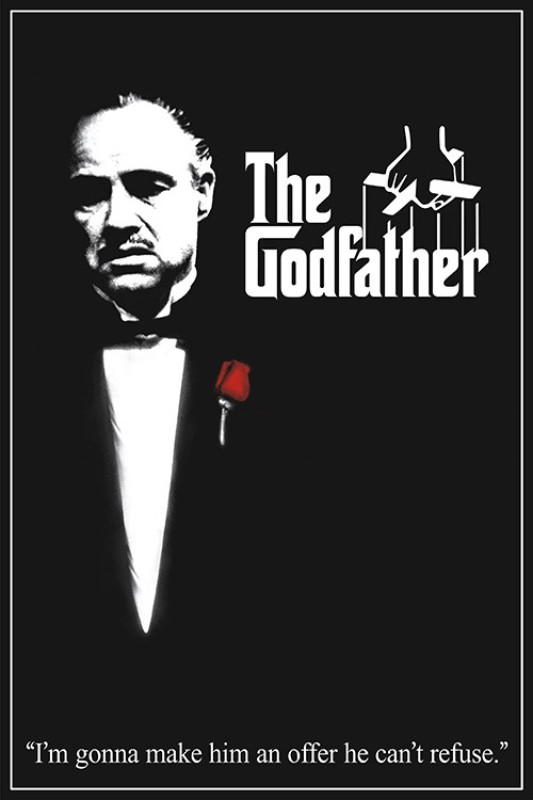 Athah The god father Poster Paper Print(18 inch X 12 inch, Rolled)