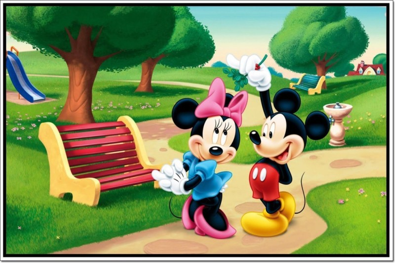 Athah Fine Quality Poster Mickey Mouse And Friends Paper Print Paper Print(12 inch X 18 inch, Rolled)