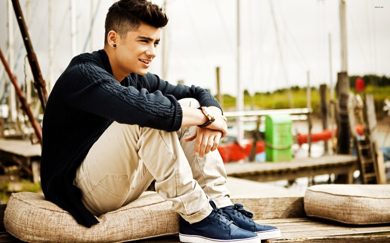 Athah Zayn Malik Frameless Poster Paper Print(12 inch X 18 inch, Rolled)