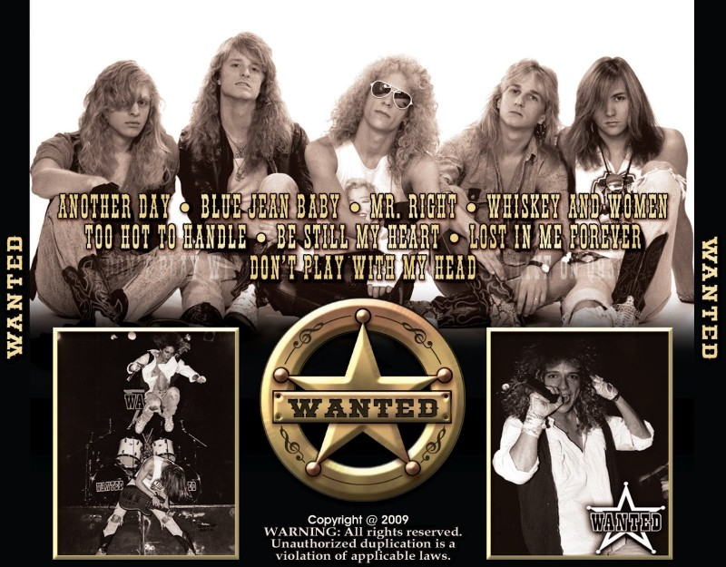 BeLucky Wall Poster Wanted Heavy Metal Metal Hard Rock Classic Classic Rock Album Cover Paper Print(12 inch X 18 inch, Rolled)