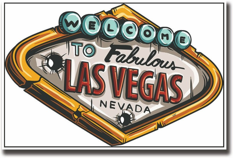 Las Vegas Fine Art Print(12 inch X 18 inch, Rolled)