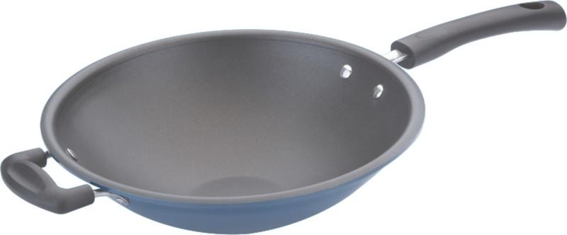 Vinod Wok - 33 NA Pan 28 cm diameter(Aluminium, Non-stick)