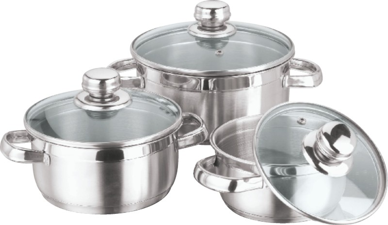 Vinod Breman Pot 1 L with Lid(Stainless Steel)