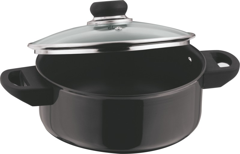 Vinod Cook & Serve with Lid Pot 2.7 L with Lid(Hard Anodised, Non-stick)
