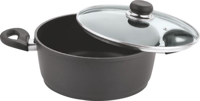 Vinod Casserole with Lid Pot 6.5 L with Lid(Aluminium, Non-stick)