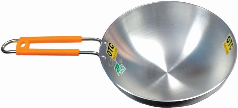 OTC Kadai with Long Handle 20CM (Aluminium) Kadhai 20 cm(Aluminium)