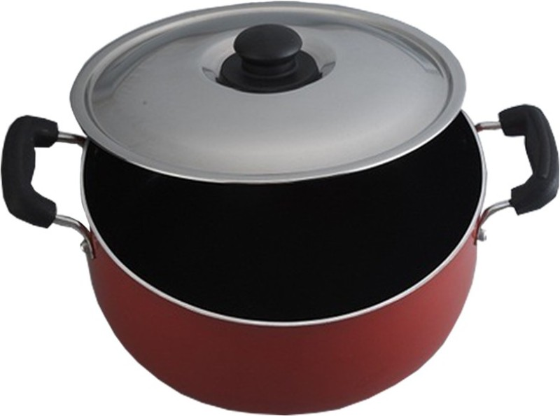 Anantha Pot 3 L with Lid(Aluminium, Non-stick)