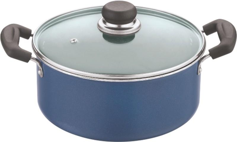 Vinod Casserole with Lid Pot 4.2 L with Lid(Aluminium, Non-stick)