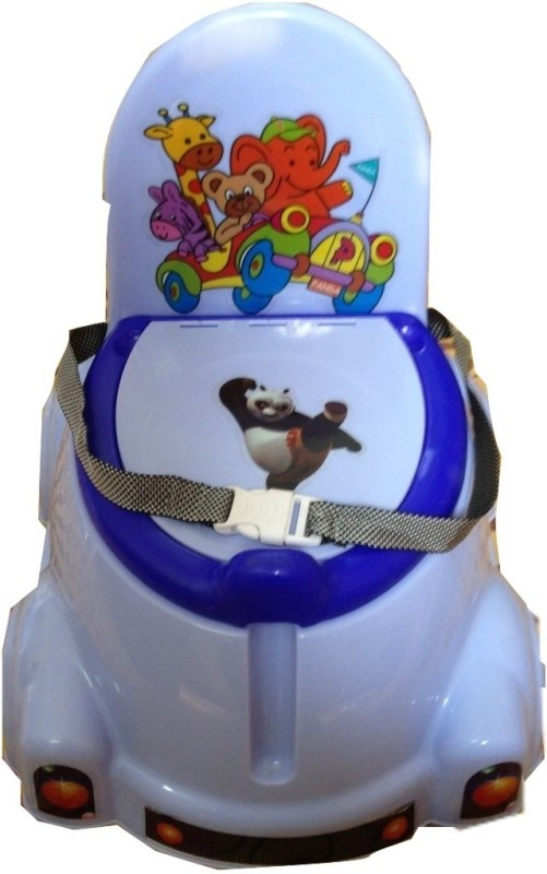 Melonz Panda Potty Seat(Blue)