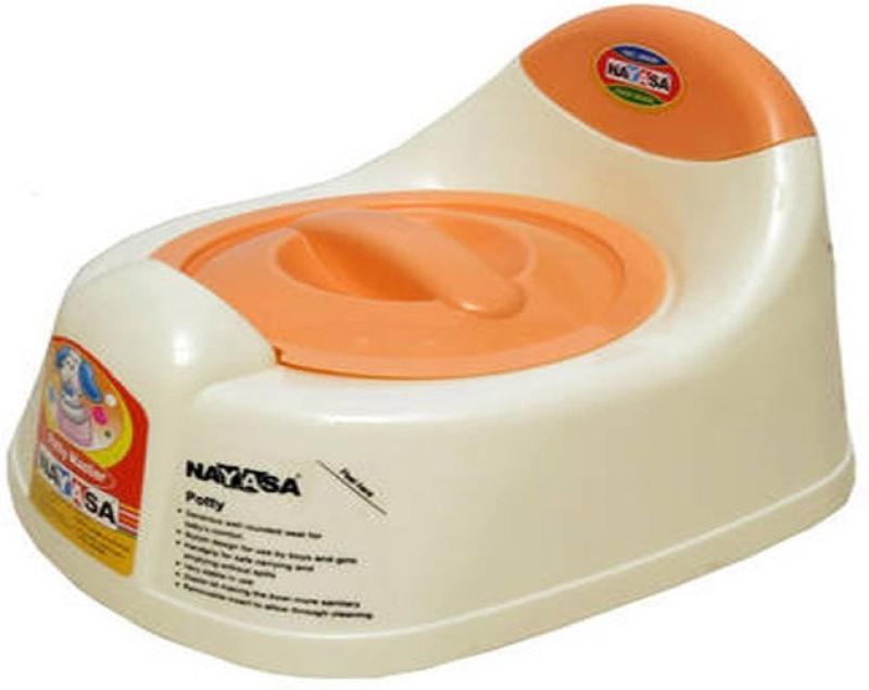 Nayasa trainer Potty Box(Cream) trainer