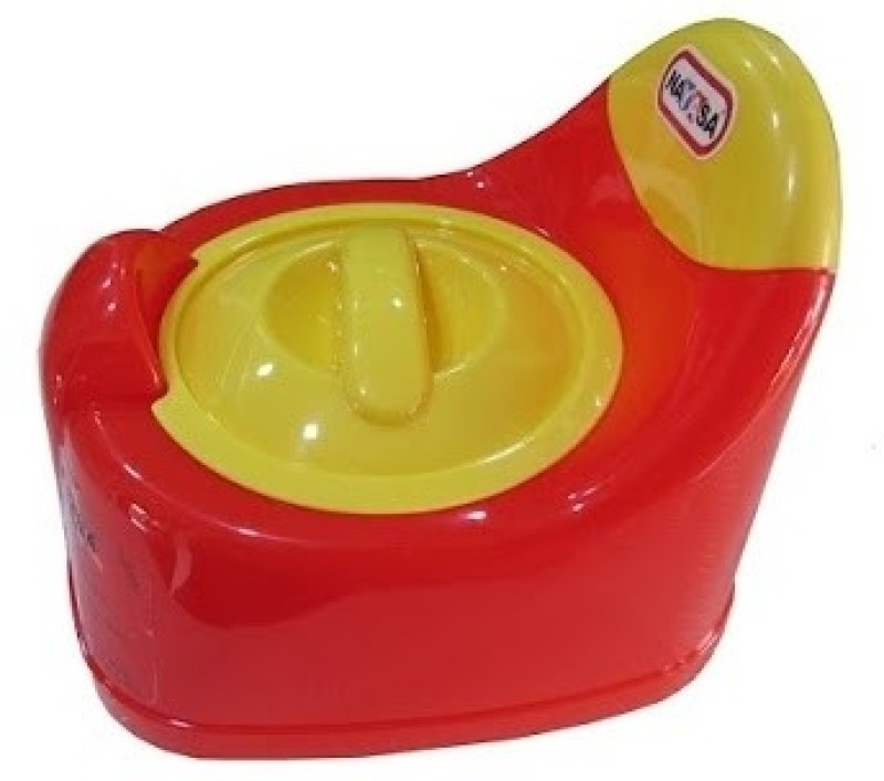 Nayasa Lid Potty Seat(Red, Yellow) Lid