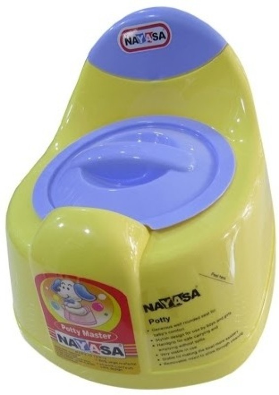 Nayasa Potty Lid Seat(Purple, Yellow)