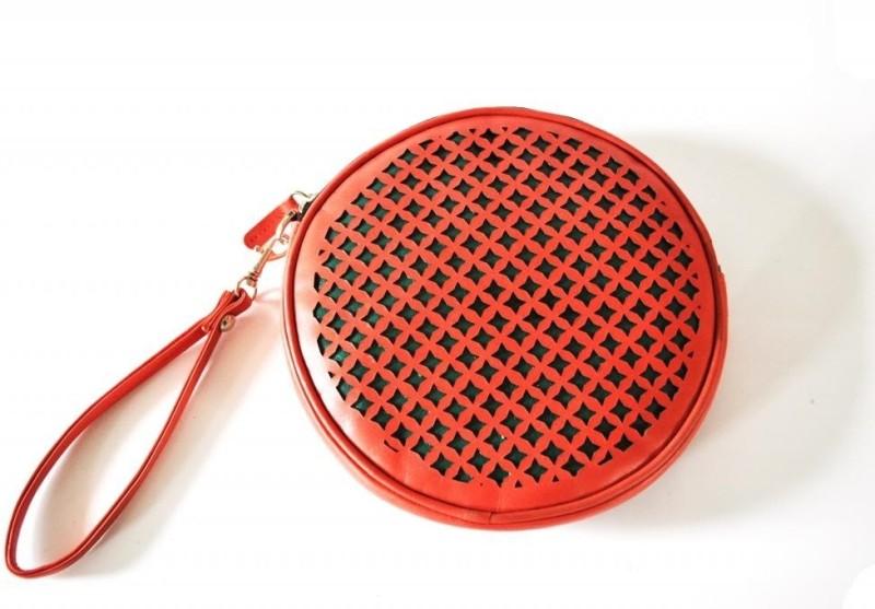 Dhruva Ora Wristlet(Red)