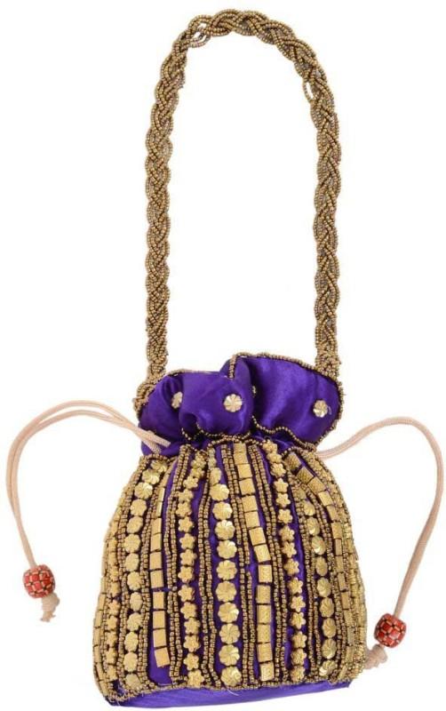 Goldeno PPC0105 Potli(Purple)