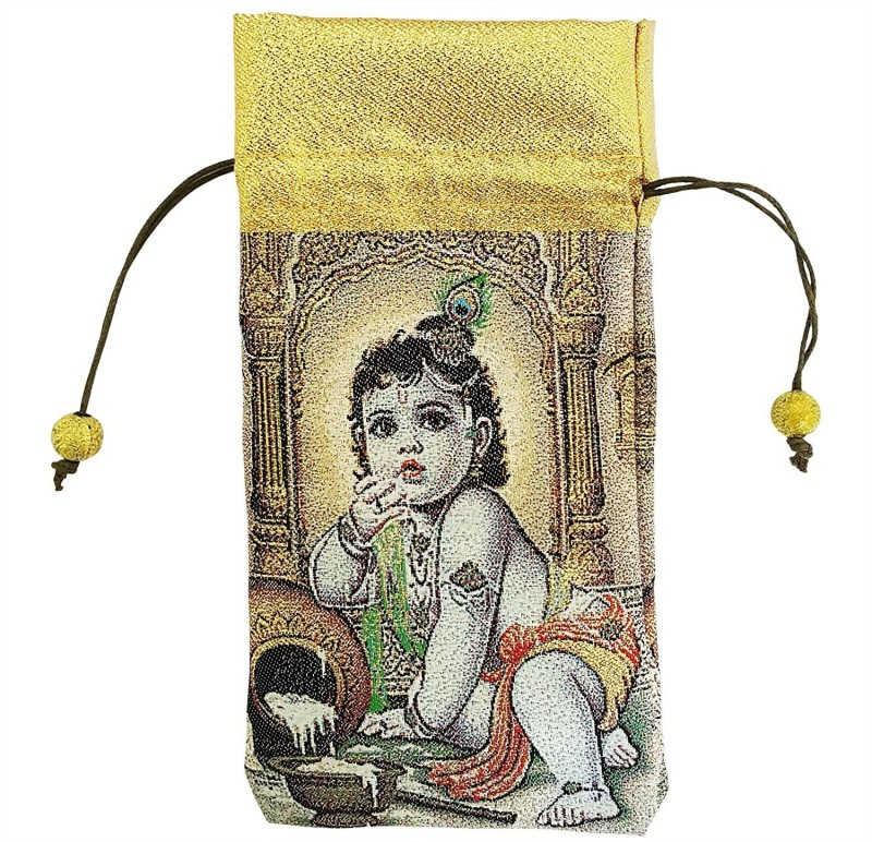 Mehrunnisa Krishna Mobile Pouch(Multicolor)