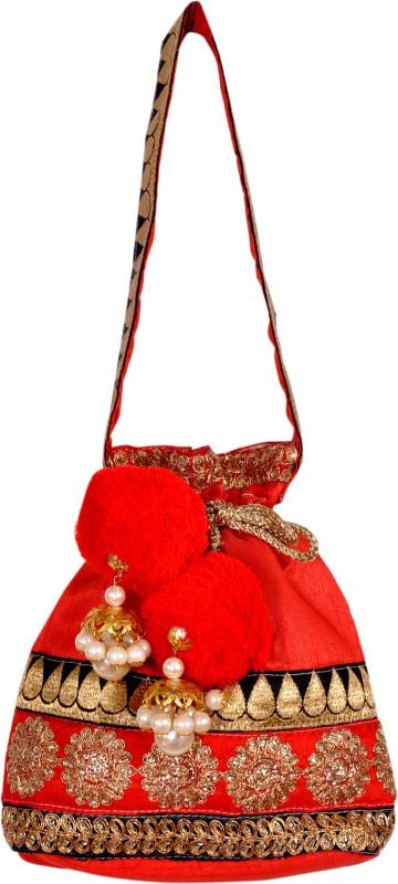 Saaraa Pom Pom Potli(Red)