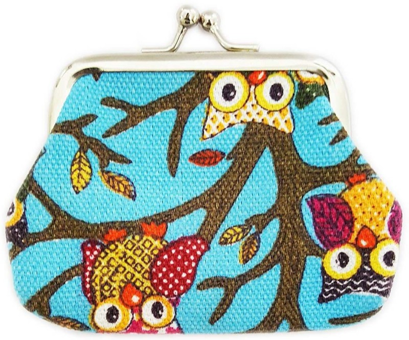 Mehrunnisa Cute For Girls Coin Purse(Blue)