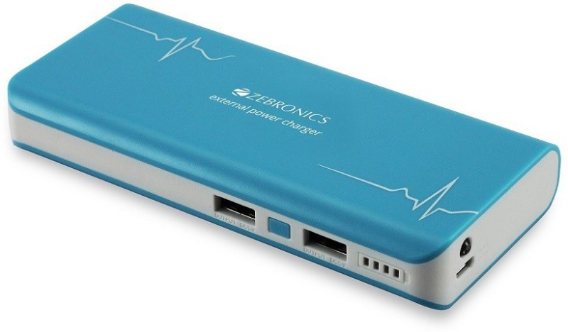 Buy Zebronics Power Bank Blue 10000 Mah Power Bank Blue Online Get