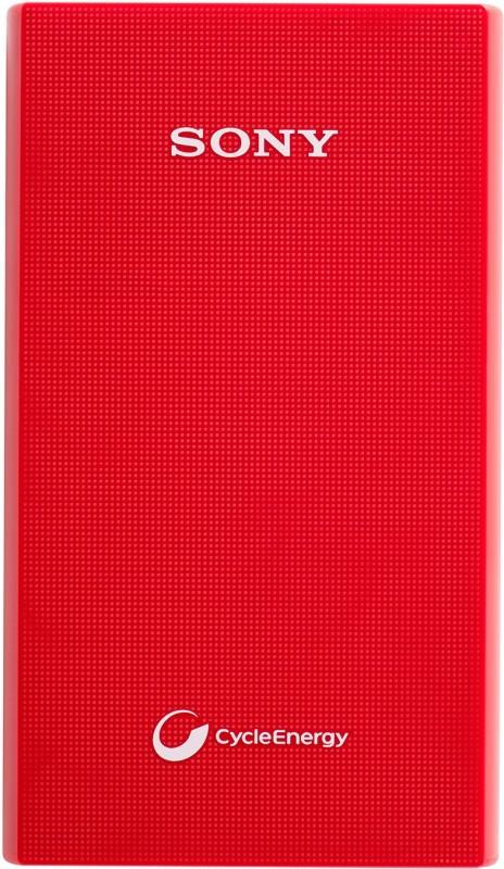 Sony CP-V6 6100 mAh Power Bank(Red Lithium Polymer)
