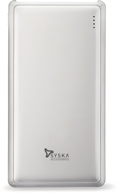 Syska 20000 mAh Power Bank (Power, Pro 200-)(White, Lithium Polymer)
