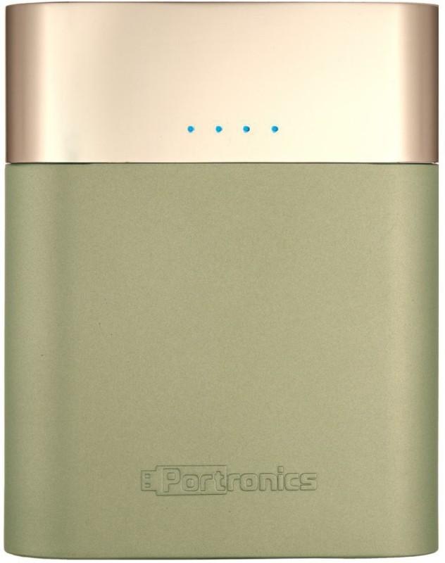 Portronics POR-546 Velocity 10400 mAh Power Bank(Champagne Lithium-ion)