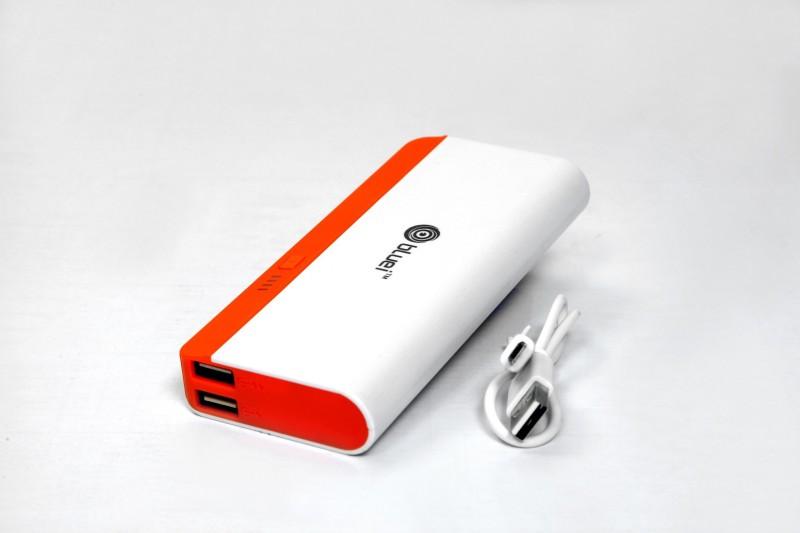 Bluei EB-06 Portable Charger 10000 mAh Power Bank(Orange, Lithium-ion)