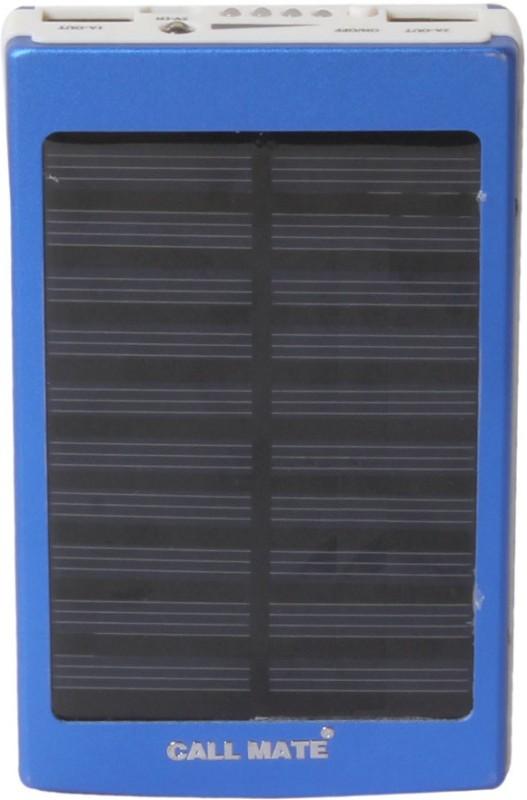 Callmate 20000 mAh Power Bank (Power Bank, Solar Metal)(Blue, Lithium-ion)