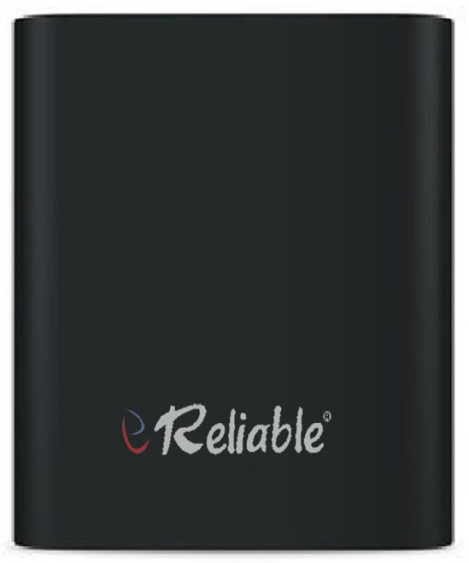 Reliable 10400 mAh Power Bank (Power Bank, RBL4 Metal Tube)(Black, Lithium-ion)