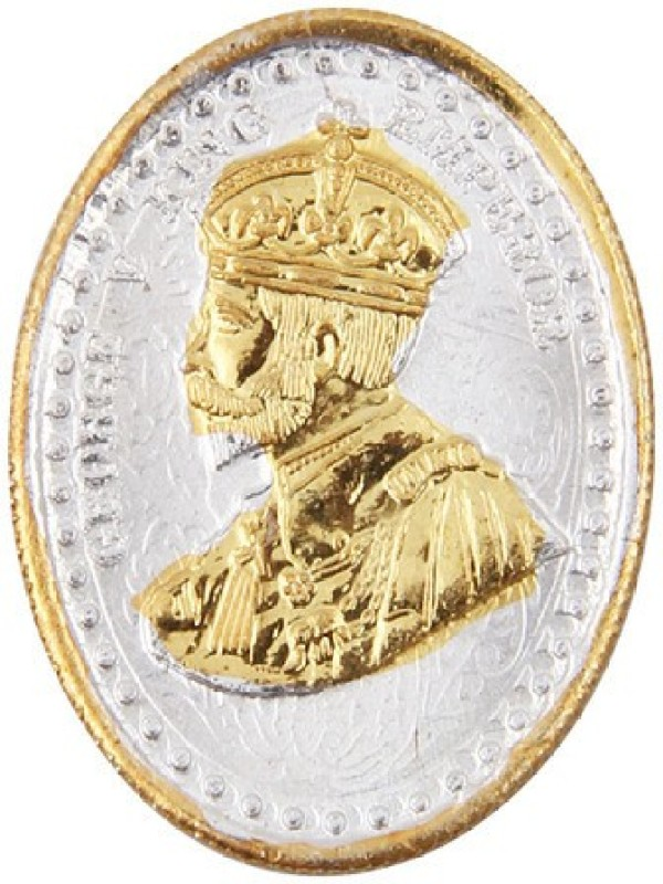 Jewel99 King George 24 KT Gold Plated Coin
