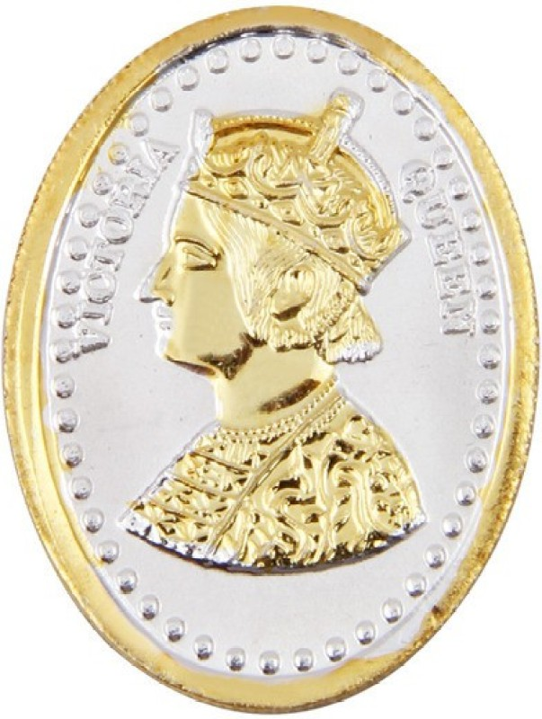 Jewel99 Queen Victoria 24 KT Gold Plated Coin