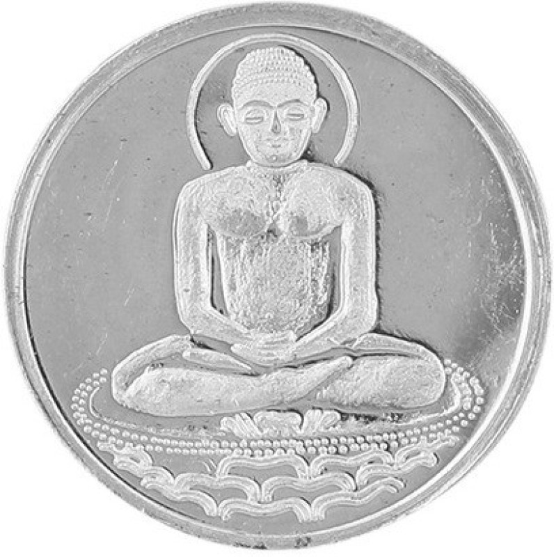 Jewel99 Jain Guru Silver Coin