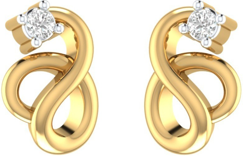 Gold & Diamond - Earring Latest Collection - jewellery
