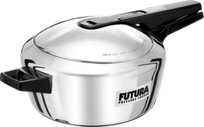 Futura 4 L Induction Bottom Pressure Cooker(Aluminium)