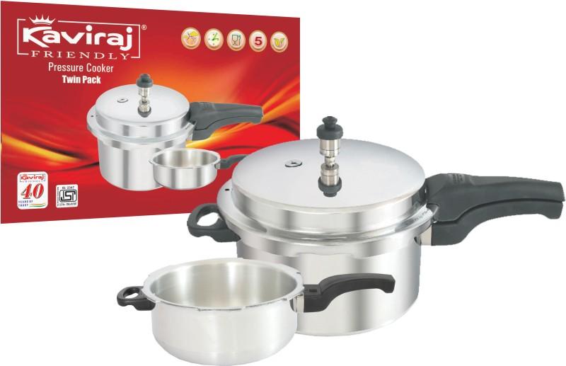 Kaviraj 3 L Pressure Cooker(Aluminium)