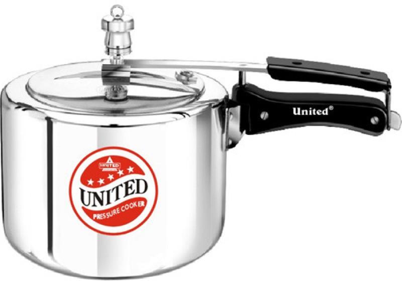 United 3 L Pressure Cooker(Aluminium)