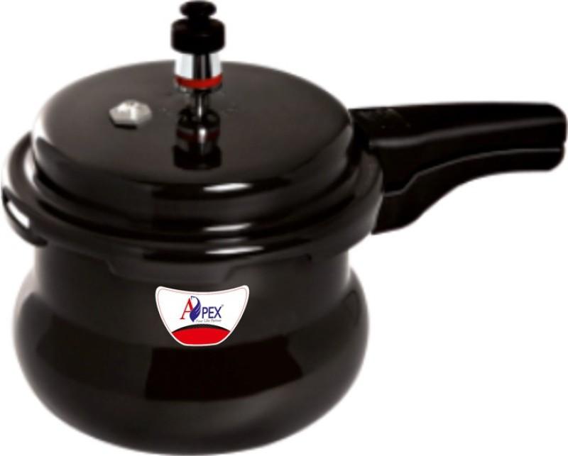 Apex Hard Anodised Popular Handi 5.5 L Pressure Cooker(Hard Anodized)