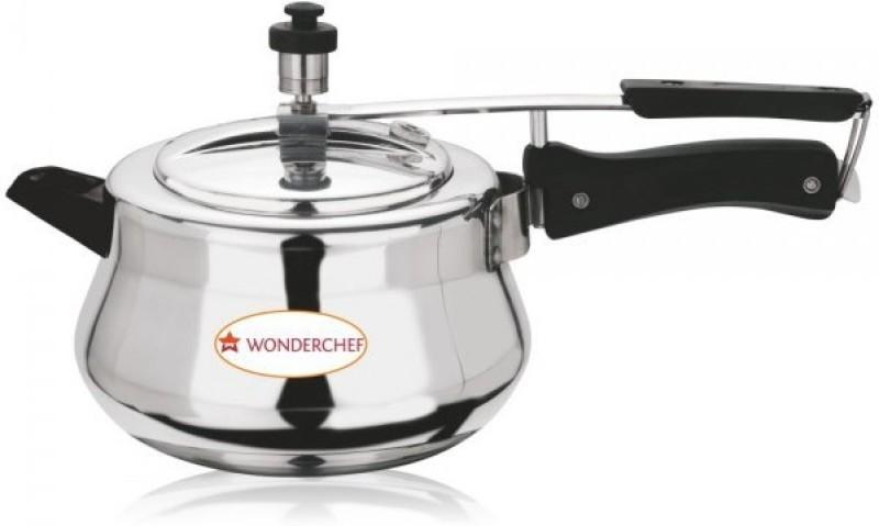 Wonderchef Ultima 3.5 L Pressure Cooker(Induction Bottom, Aluminium)