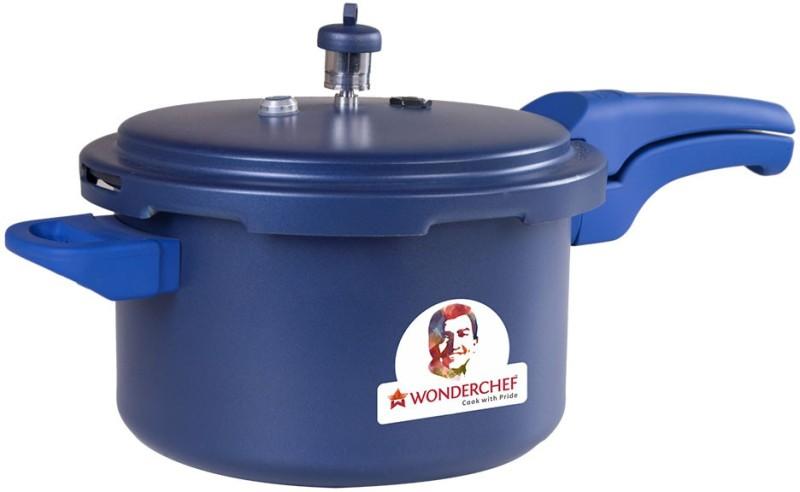 Wonderchef Health Guard 5 L Pressure Cooker with Induction Bottom(Aluminium)
