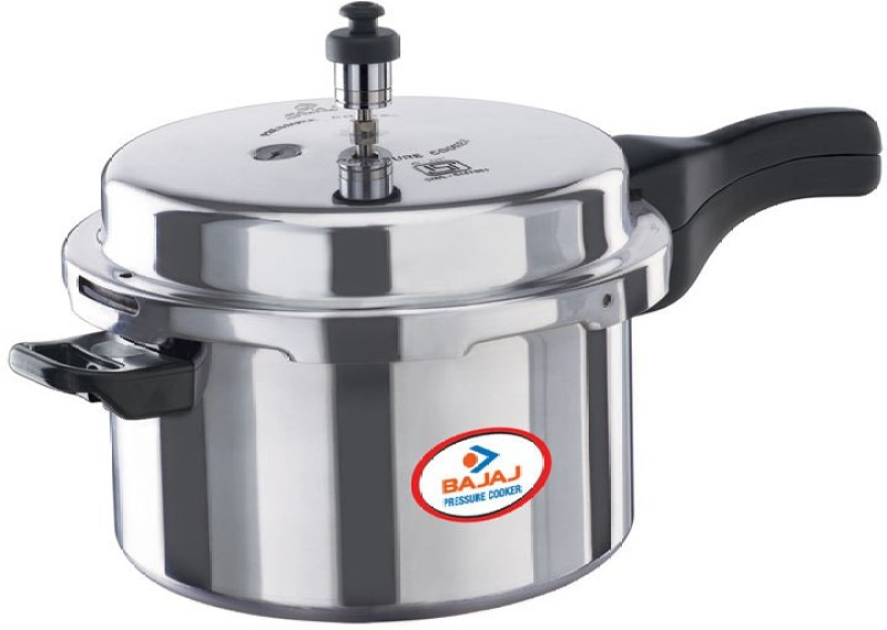 Bajaj PCX 3 3 L Pressure Cooker with Induction Bottom(Aluminium)