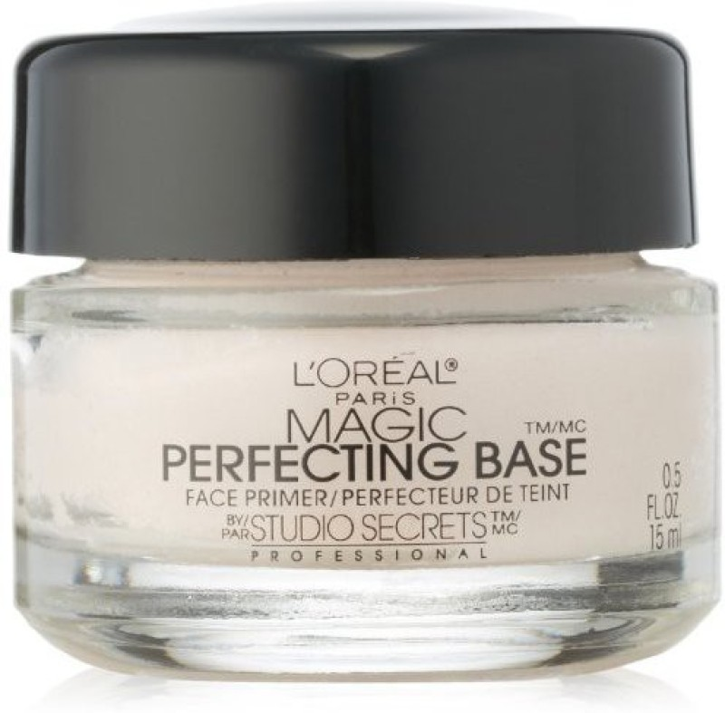 L'Oreal Paris Studio Secrets Professional Magic Perfecting Base Face  Primer  - 15 ml(White)