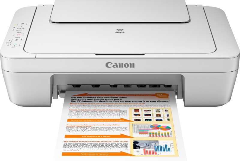 Canon PIXMA MG2570 All-in-One Inkjet Printer(White, Ink Cartridge)