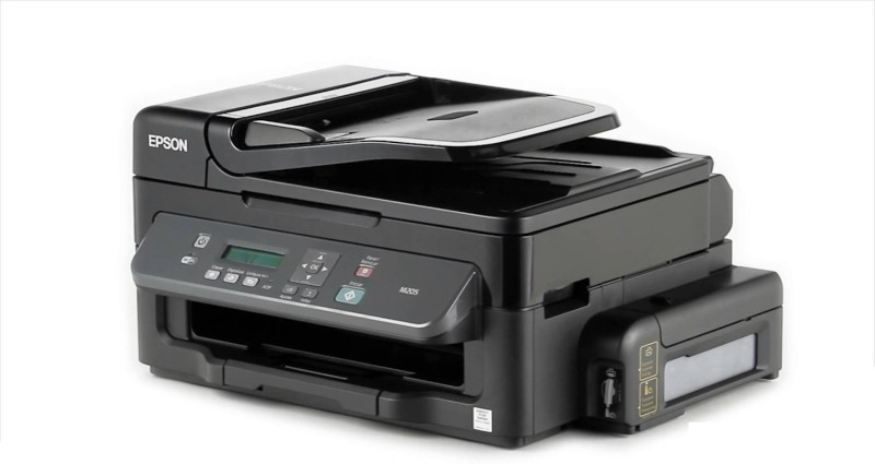 Epson M205 Multi-function Wireless Printer(Black, Refillable Ink Tank) image