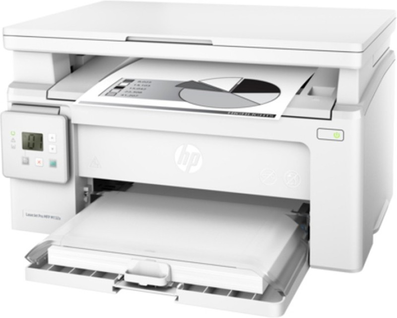 HP LaserJet Pro MFP M132a Multi-function Printer(White, Toner Cartridge)