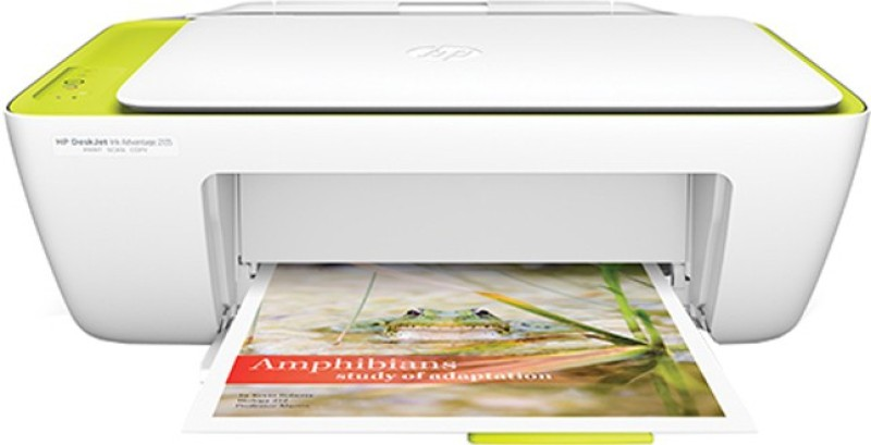 HP DeskJet Ink Advantage 2135 All-in-One Printer(White, Ink Cartridge)