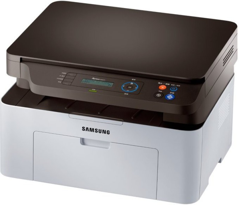 Samsung SL-M2071 Multi-function Printer(Black, Grey, Toner Cartridge) image