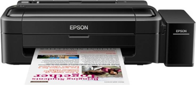 Epson L130 Single Function Inkjet Printer(Black, Refillable Ink Tank)